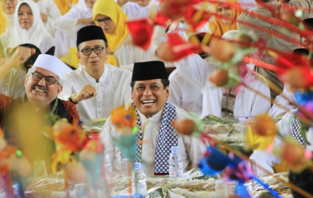 Organisasi Keperempuanan Golkar Gelar Maulid Nabi, 2.500 Muslimah Padati Karebosi