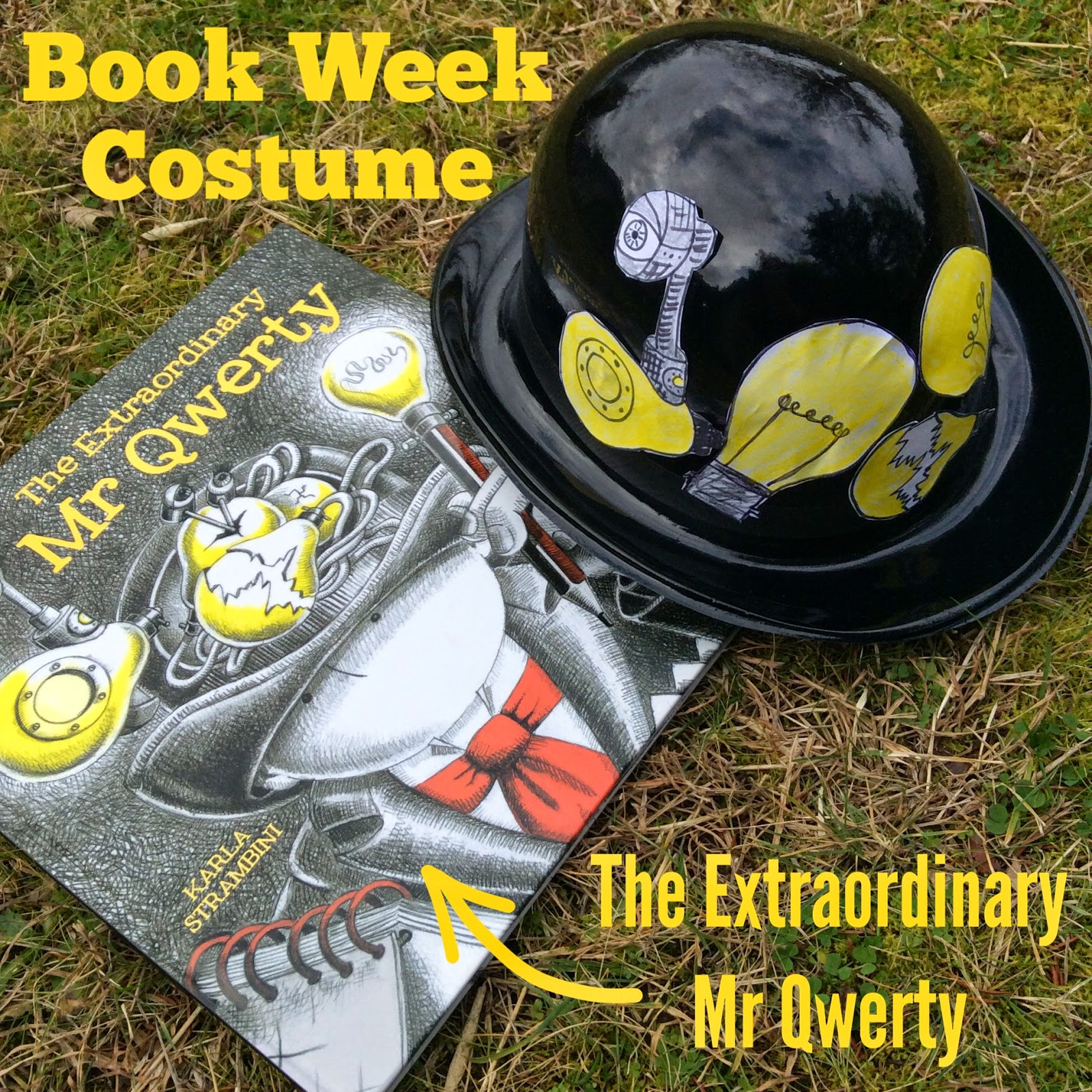 Book Week Parade Costume: The Extraordinary Mr Qwerty