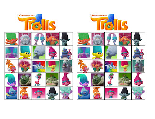 free printable trolls party games