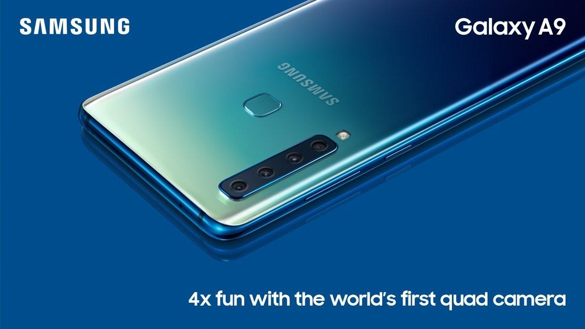 هاتف جاكسي A9 2018 يأتي مع كاميرا بأربع مستشعرات خلفية