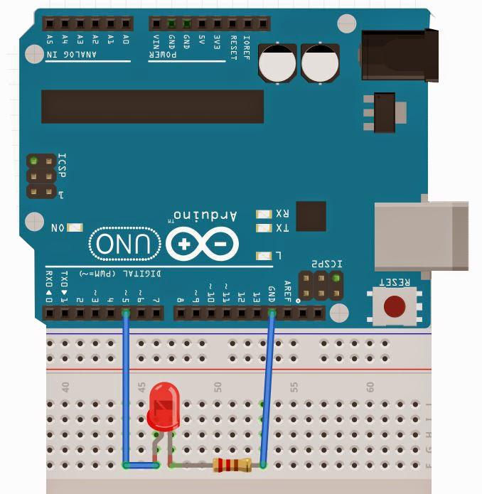 Arduino led yakma uygulamaları robot projeleri