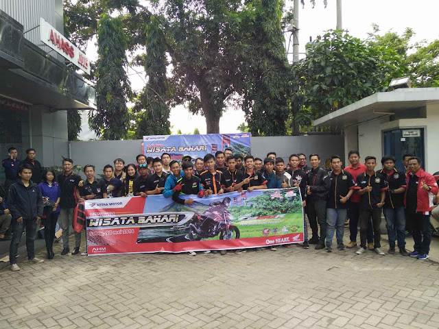 All New CB150R Streetfire Touring Wisata Bahari Kota Palembang