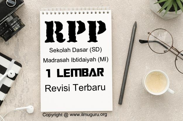 RPP SD Kelas 4 Semester 2 Revisi