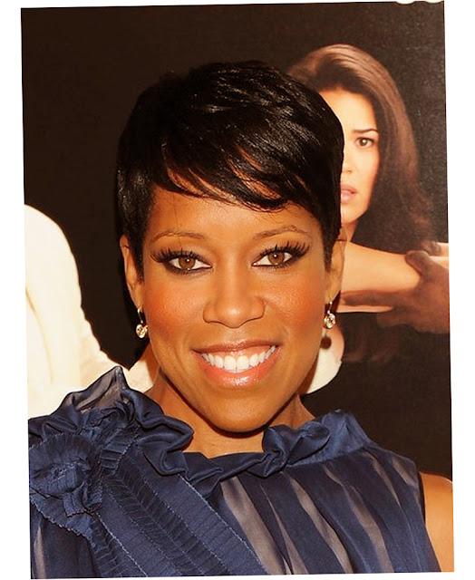 Celebrity Short Hairstyles Black Women Photo