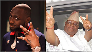 Davido's Uncle, Ademola Adeleke In A Special Dance After Being Declared Winner Of The Senatorial Election