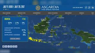 Mengenal Asgardia, Negara Luar Angkasa yang Diburu Ribuan WNI