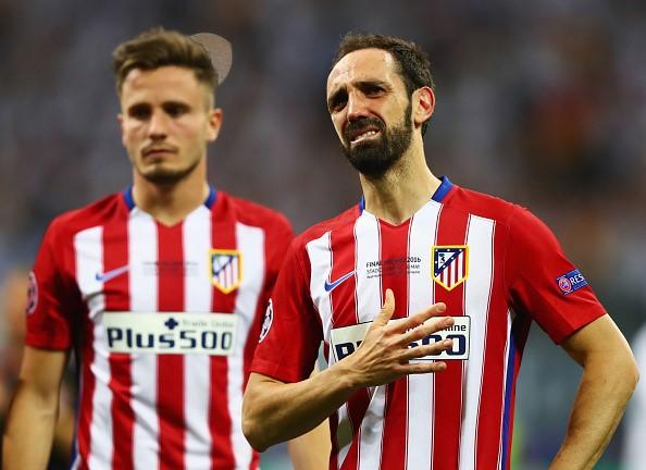 Agotada la camiseta de Juanfran en el Atleti
