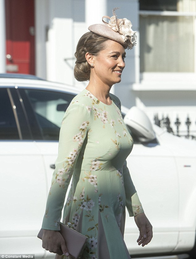 Pregnant Pippa Middleton arrives for Prince Harry and ... - photo#9