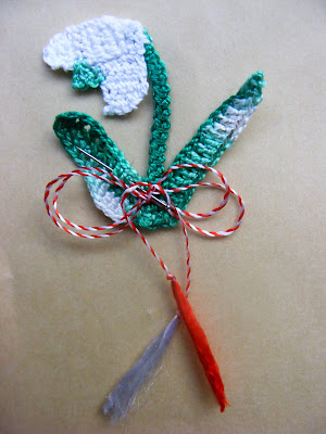 <b>Martisor original handmade 2012 ghiocel</b>