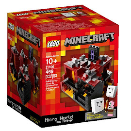 Minecraft The Nether Lego Set