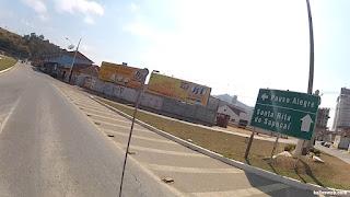 Chegando em Santa Rita do Sapucaí/MG.