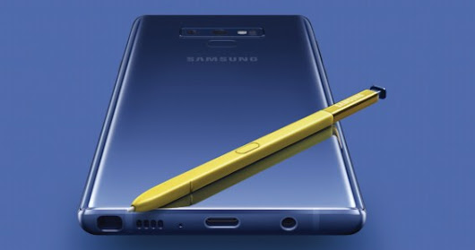 """SAMGSUNG galaxy note 9"" full specification and price in BD"