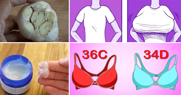 How To Grow The Size Of Breast Naturally In Just 2 Weeks, Using These Remedies!