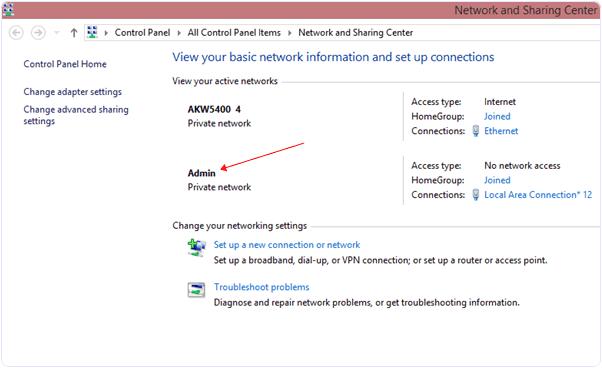 Microsoft virtual wifi miniport adapter latest