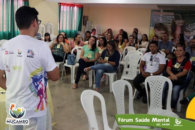 """Município de Mucambo realiza o Primeiro Fórum de Saúde Mental com tema """"Setembro Amarelo: Prevenção ao Suicídio"""""""