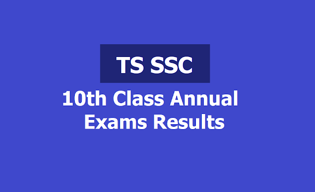 TS SSC 2019 Results| TS SSC 10th Class Results 2019