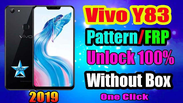 Vivo Y83 Pattern & Frp Unlock Without Box