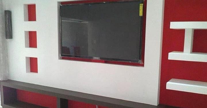 Dicor platre placard plasma ms timicha d coration for Dicor platre marocain 2014
