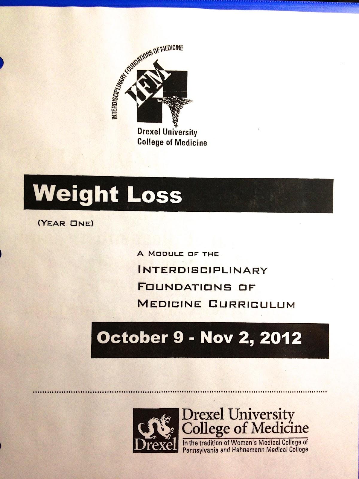 Medical Student Journey: October 2012