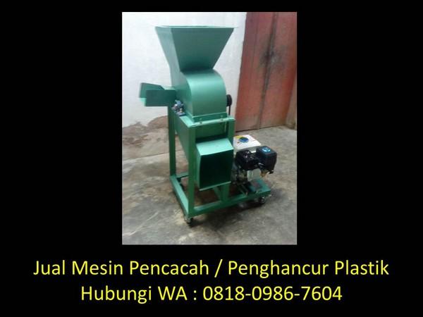mesin pencacah plastik penggiling di bandung
