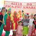 A Cuca, a Emília, o Visconde, o Saci-Pererê e toda a turma de Lobato na Escola Jamil Vilas Boas