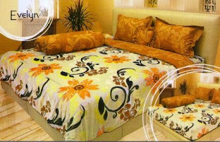 Sprei internal motif Evelyn