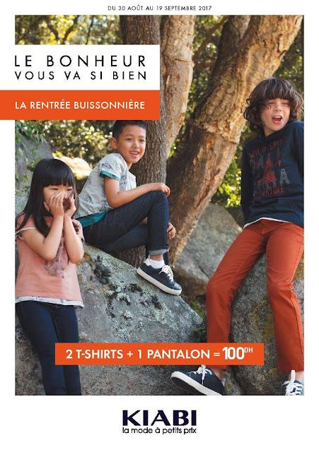 catalogue kiabi maroc aout septembre 2017