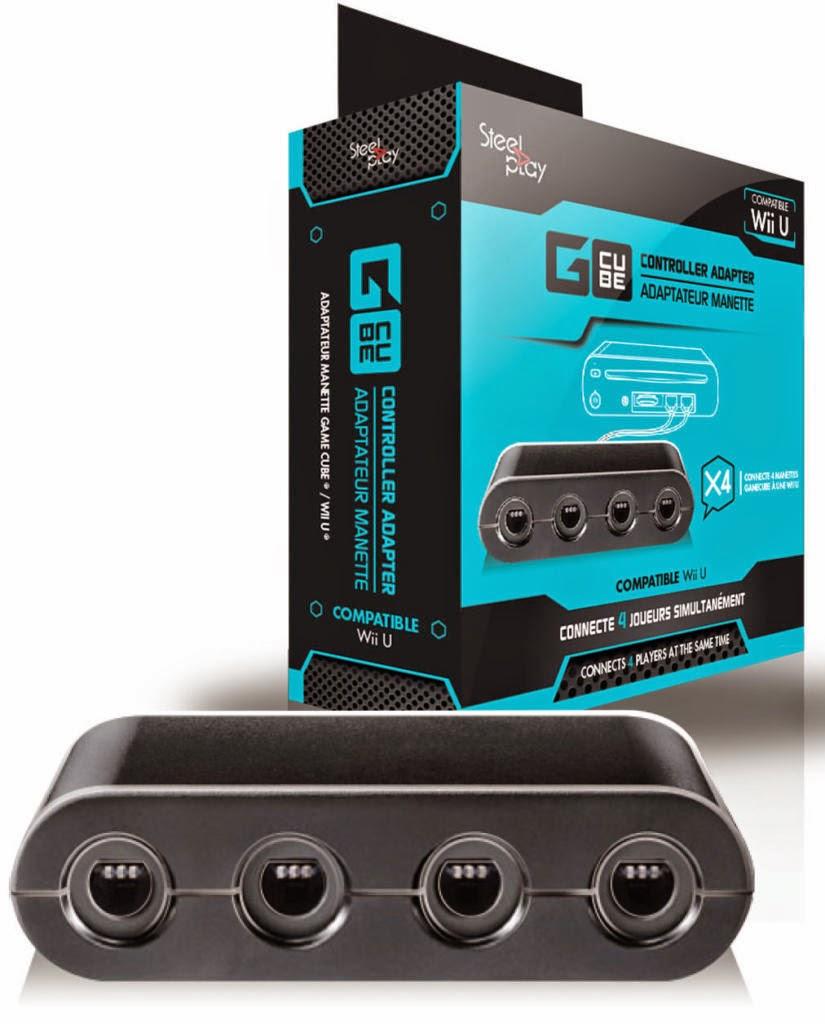 Adaptateur de Manette Gamecube pour Wii U