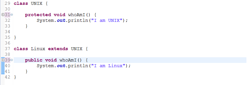 You can increase visibility of overridden method in Java