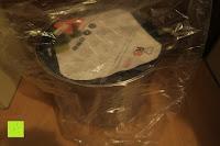 Verpackung: Edelstahl Induktion Kochtopf 20 Liter (Suppentopf mit Glasdeckel, großer Topf, 32 x 25 cm, Dampfloch)
