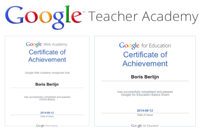 iTeach - iLearn: Google Teacher Academy