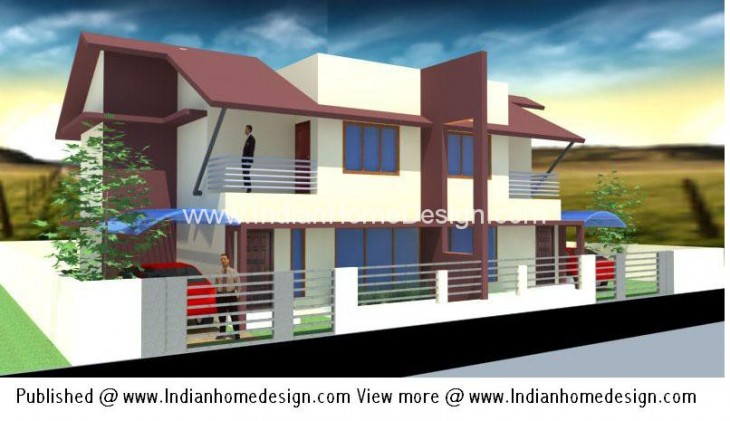House plan details  Area    sqft. Modern Twin House Plans of 1000 sqft 3 Bedroom Home