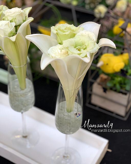 Virágkehely váza I Manzard9