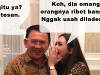 10 Meme obrolan Maia & Ahok ini lucu banget, mereka ngomongin apa ya?