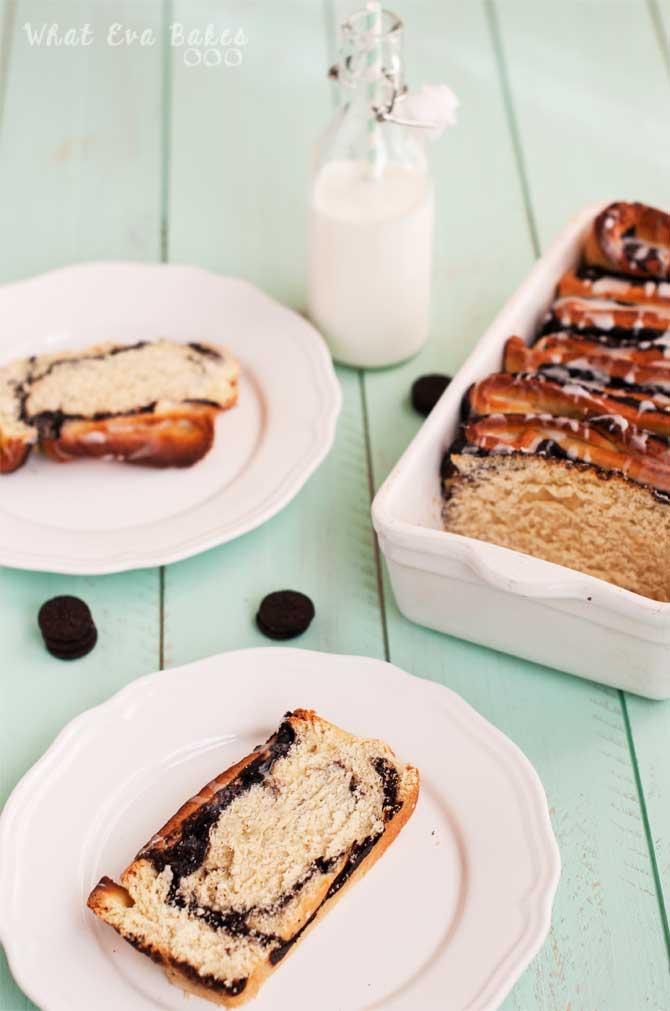 Oreo pull-apart bread con Thermomix