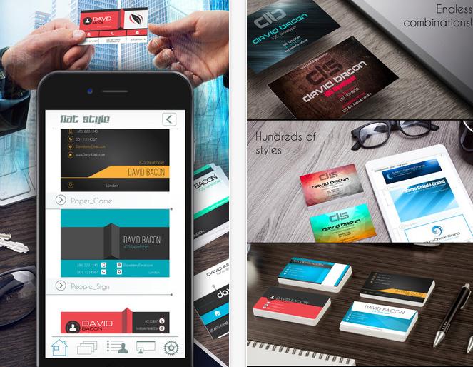 用iPhone/iPad設計名片 - Business Card Creator