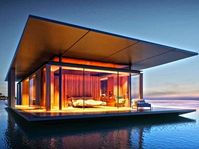 Nomad Tiny Homes >> Floating Tiny House   Tiny House Lifestyle - Small Space ...