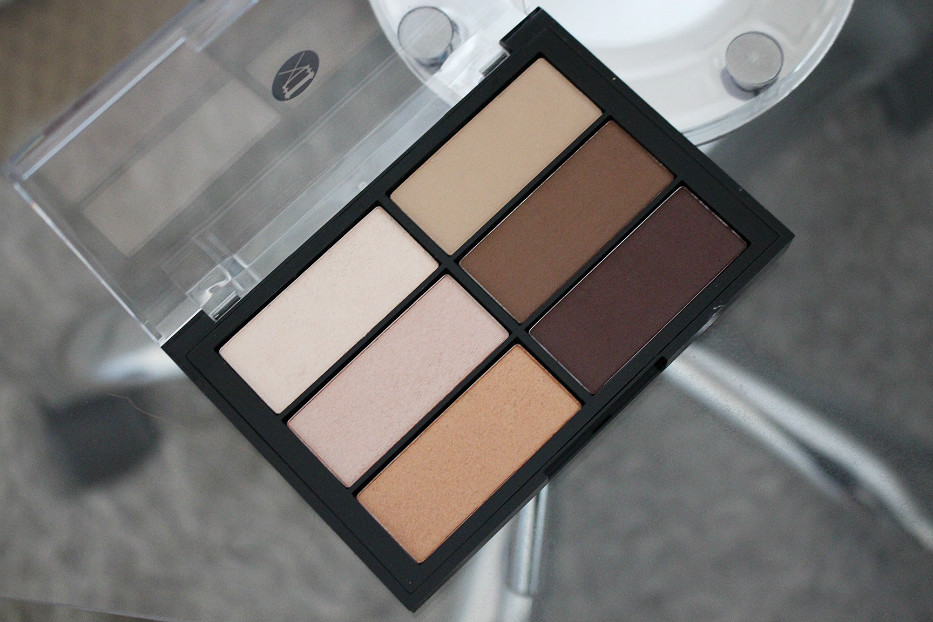 Viseart Highlight and Sculpt Palette swatch review