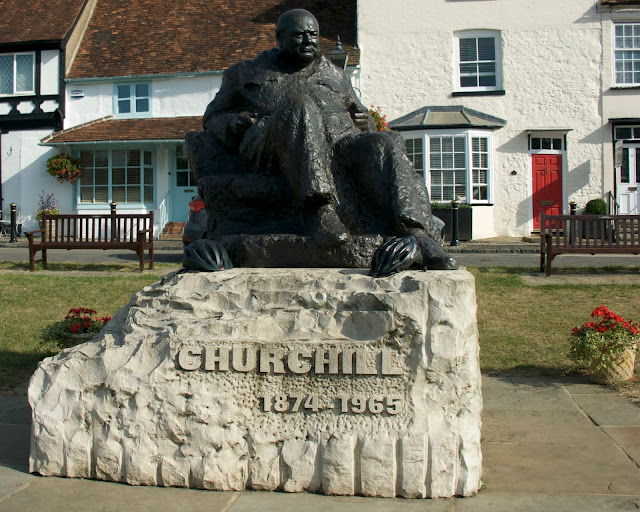 summer cycling winston churchill westerham