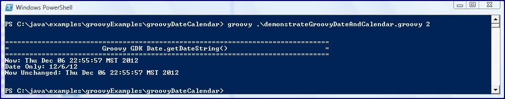 Groovy JDK (GDK): Date and Calendar - DZone Java