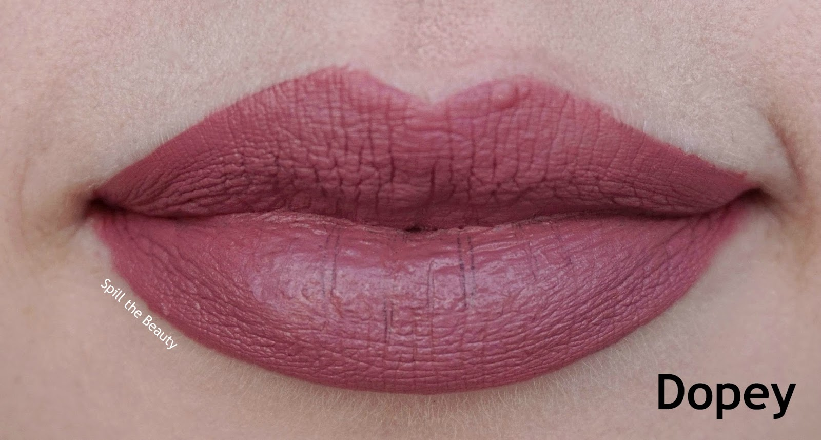 colourpop ultra satin lips faves swatches 4 dopey - lips