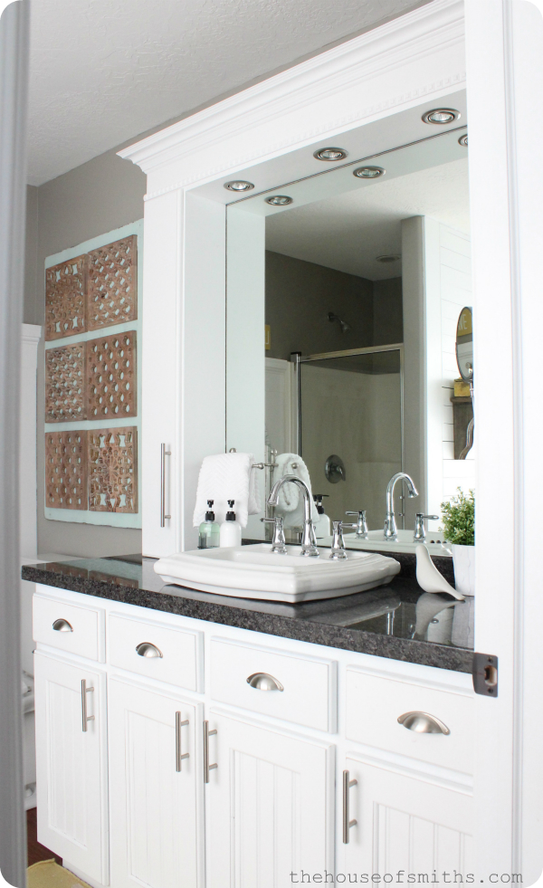 Small Master Bathroom Remodel With Stylish Affordable