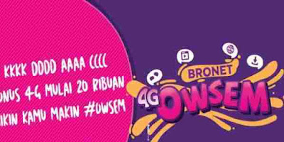 Cara mengaktifkan paket Internet Axis Bronet  cara mengaktifkan paket internet Axis Bronet 4G Owsem dan berapa harga paket internet Axis Bronet 4G Owsem