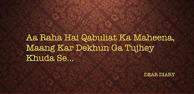 dear diary urdu poetry images 3