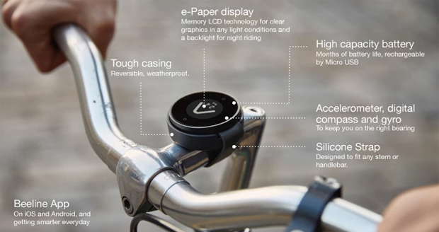 BeeLine Bike Navigation Device