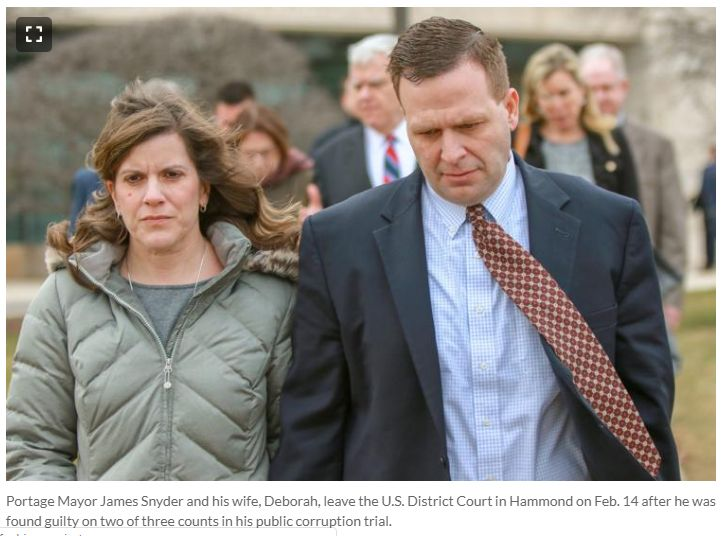Draining The Swamp In Porter County Indiana: 04122019 - News Article