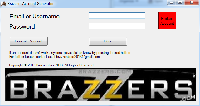 Brazzers password hack apologise, but