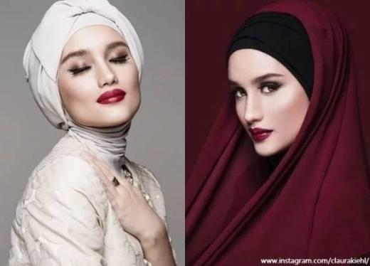 Kumpulan Foto Cinta Laura Dalam Hijab Cantik