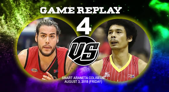 Video Playlist: SMB vs Ginebra Game 4 replay August 3, 2018 PBA Commissioner's Cup