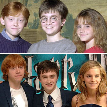 Chronicles of Life: Farewell Harry Potter, Ron Weasley ...